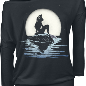 The Little Mermaid - Moonshine - Girls longsleeve - black product image at Soundorabilia.com