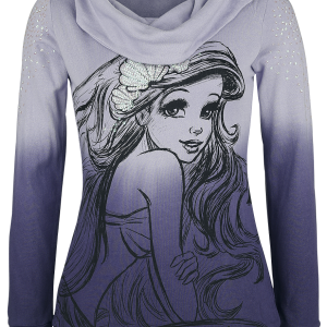 The Little Mermaid - Shell - Girls hooded sweatshirt - lilac product image at Soundorabilia.com