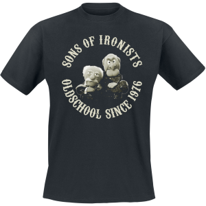 The Muppets - Sons Of Ironists - T-Shirt - black product image at Soundorabilia.com