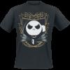 The Nightmare Before Christmas - Jack Art Deco - T-Shirt - black product image at Soundorabilia.com