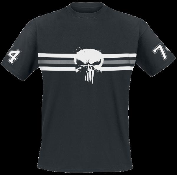 The Punisher - 74 - T-Shirt - black product image at Soundorabilia.com