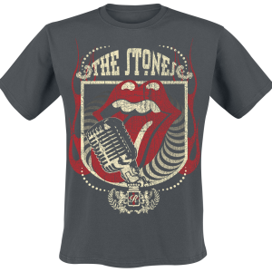 The Rolling Stones - 40 Licks - T-Shirt - charcoal product image at Soundorabilia.com