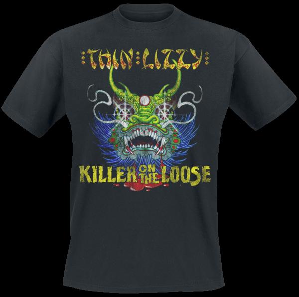 Thin Lizzy - Killer On The Loose - T-Shirt - black product image at Soundorabilia.com