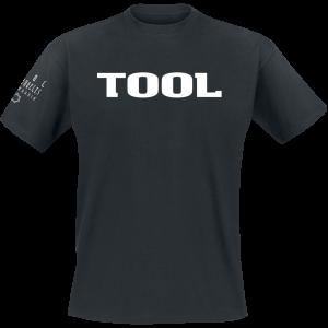 Tool - Classic Logo - T-Shirt - black product image at Soundorabilia.com