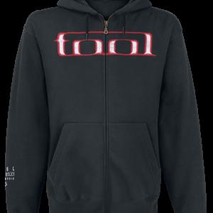 Tool - Grid Skull - Hooded zip - black product image at Soundorabilia.com