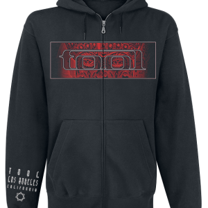 Tool - Red Face - Hooded zip - black product image at Soundorabilia.com