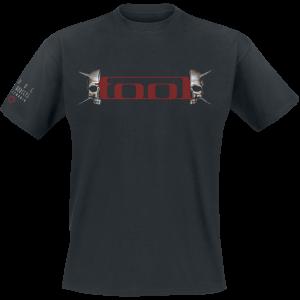 Tool - Spike Skull - T-Shirt - black product image at Soundorabilia.com