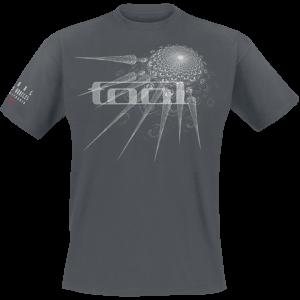 Tool - Tour 2019 - Spectre Spike - T-Shirt - charcoal product image at Soundorabilia.com