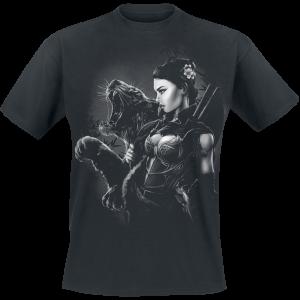 Toxic Angel - Blossom - T-Shirt - black product image at Soundorabilia.com