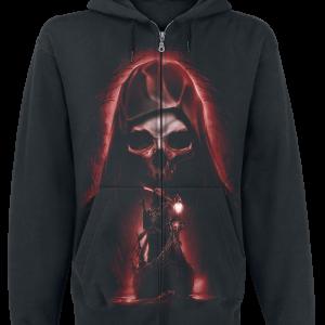 Toxic Angel - Charon - Hooded zip - black product image at Soundorabilia.com