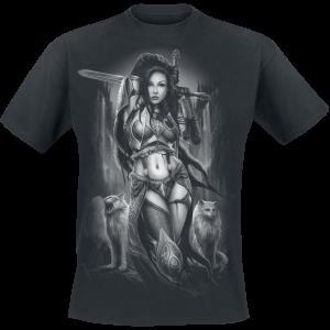 Toxic Angel - Freya - T-Shirt - black product image at Soundorabilia.com