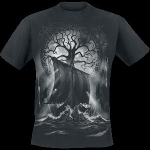 Toxic Angel - Naglfar - T-Shirt - black product image at Soundorabilia.com