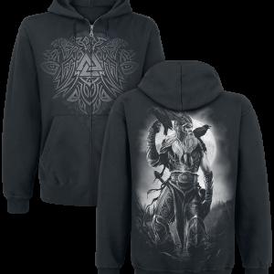 Toxic Angel - Odin - Hooded zip - black product image at Soundorabilia.com