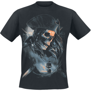 Toxic Angel - Pirates - T-Shirt - black product image at Soundorabilia.com