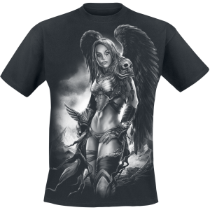 Toxic Angel - Valkyrie - T-Shirt - black product image at Soundorabilia.com