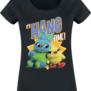 Toy Story - 4 - Hang Time - Girls shirt - black product image at Soundorabilia.com