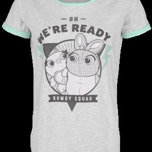 Toy Story - 4 - Rowdy Squad - Girls shirt - mottled grey product image at Soundorabilia.com
