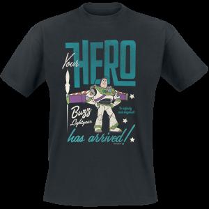 Toy Story - Buzz Lightyear - Hero - T-Shirt - black product image at Soundorabilia.com