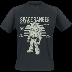 Toy Story - Buzz Lightyear Vintage - T-Shirt - black product image at Soundorabilia.com