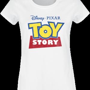 Toy Story - Logo - Girls shirt - white product image at Soundorabilia.com