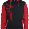 Tribal Jacket -  - Hooded zip - black-red product image at Soundorabilia.com