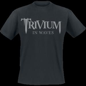 Trivium - In Waves - T-Shirt - black product image at Soundorabilia.com