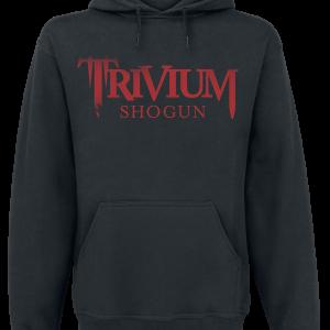 Trivium - Shogun - Hooded sweatshirt - black product image at Soundorabilia.com