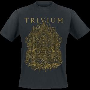 Trivium - Throne Of Satan - T-Shirt - black product image at Soundorabilia.com