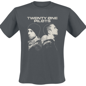Twenty One Pilots - Back To Back - T-Shirt - anthracite product image at Soundorabilia.com