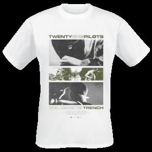 Twenty One Pilots - Clips - T-Shirt - white product image at Soundorabilia.com