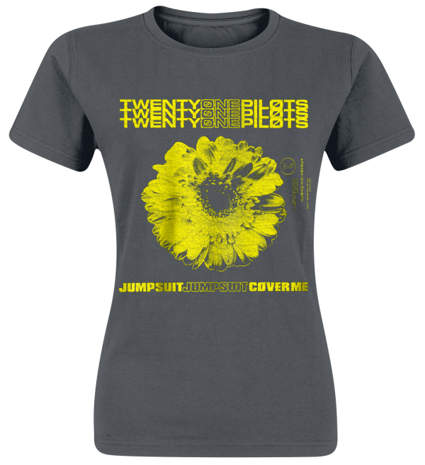 Twenty One Pilots - Daisy - Girls shirt - ash-grey product image at Soundorabilia.com