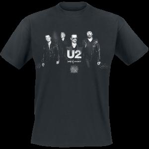 U2 - Songs Of Innocence Photo - T-Shirt - black product image at Soundorabilia.com