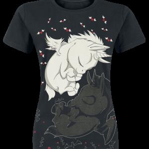 Unicorn - Dreaming Unicorns - Girls shirt - black product image at Soundorabilia.com