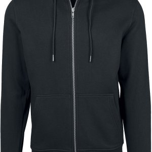 Urban Classics - Basic Zip Hoodie - Hooded zip - black product image at Soundorabilia.com