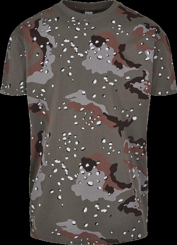 Urban Classics - Oversized Camo Tee - T-Shirt - desert camo product image at Soundorabilia.com