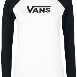 Vans - Flying V Classic - Girls longsleeve - black-white product image at Soundorabilia.com