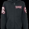 Venom (Marvel) - Cobweb - Hooded zip - black product image at Soundorabilia.com