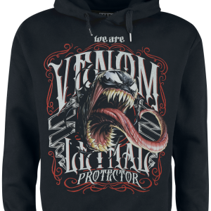 Venom (Marvel) - Lethal - Hooded sweatshirt - black product image at Soundorabilia.com
