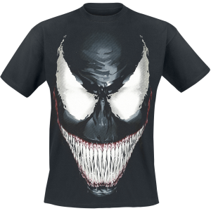 Venom (Marvel) - Smile - T-Shirt - black product image at Soundorabilia.com