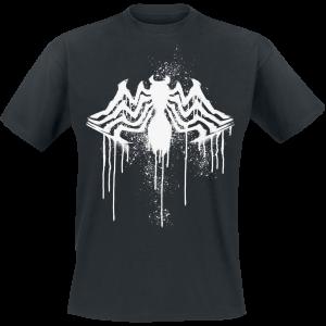 Venom (Marvel) - Splash Spider - T-Shirt - black product image at Soundorabilia.com