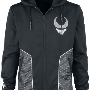 Venom (Marvel) - Venom - Hooded zip - black-grey product image at Soundorabilia.com
