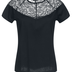 Vive Maria - Amoureuse Shirt - Girls shirt - black product image at Soundorabilia.com