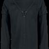 Vixxsin - Marcel Top - Longsleeve - black product image at Soundorabilia.com