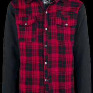 Vixxsin - Quinn Jacket - Shirt - red product image at Soundorabilia.com