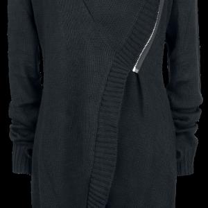 Vixxsin - Radhika Cardigan - Girls' cardigan - black product image at Soundorabilia.com