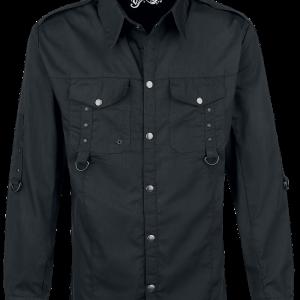 Vixxsin - Torn Shirt - Shirt - black product image at Soundorabilia.com