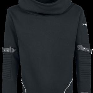 Vixxsin - Voyage Hood - Hooded sweatshirt - black product image at Soundorabilia.com