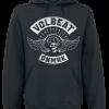 Volbeat - Breaking All The Rules - Hooded sweatshirt - black product image at Soundorabilia.com