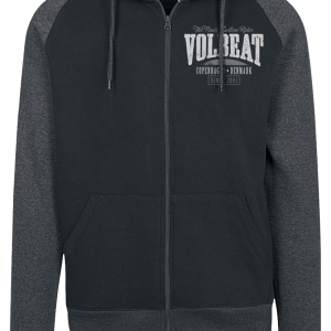 Volbeat - Louder And Faster - Hooded zip - black-greying product image at Soundorabilia.com