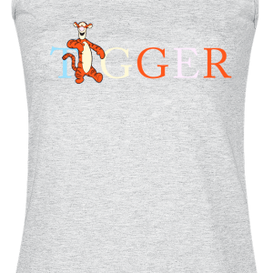 Winnie the Pooh - Tigger - Girls Top - mottled grey product image at Soundorabilia.com